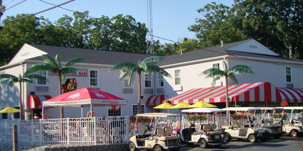 Located At The Bay Lodging Resort Buckeye Tiki Bar Is A Favored Hangout On Saays For Island S Ohio State Crowd Daily Drink Specials Draw